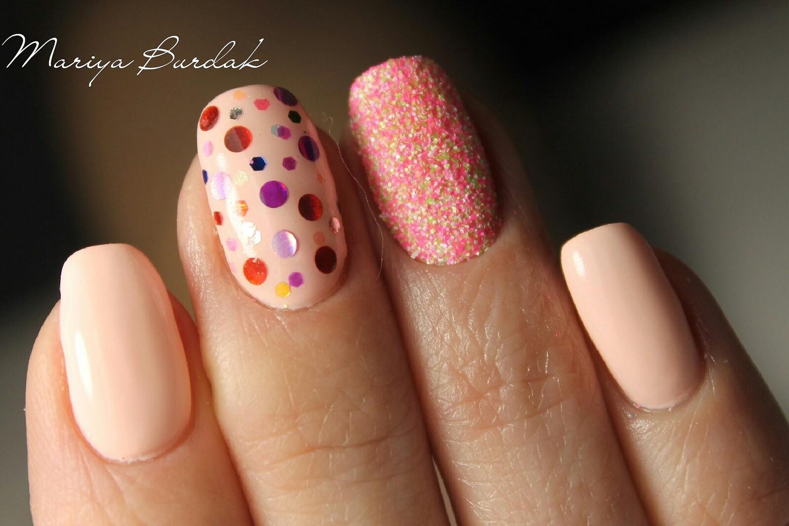 Мармелад для ногтей (Меланж) Nail Passion Меланж-сахарок 21