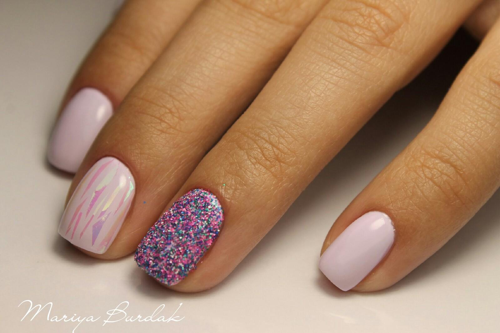 Мармелад для ногтей (Меланж) Nail Passion Меланж-сахарок 9
