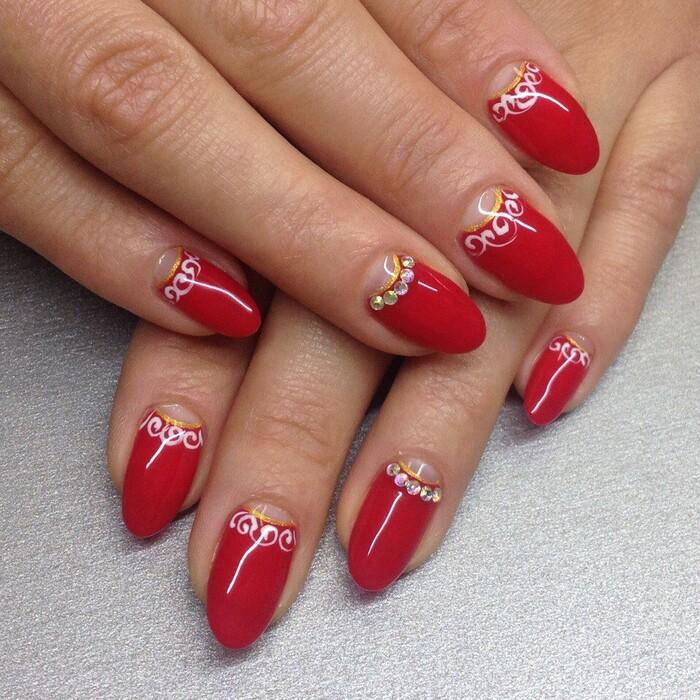 Дизайн натуральных ногтей гель лаком